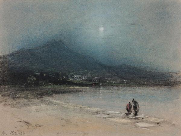 BRIGHT Henry (1810-1873) - Moonlit capriccio.