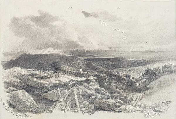 BRIGHT Henry (1810-1873) - 'Near Dorking, Surrey'.