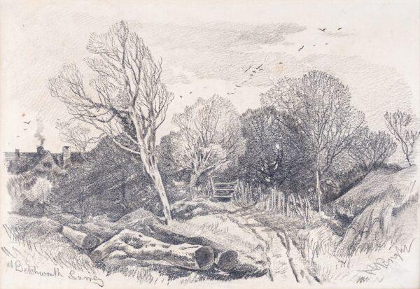 BRIGHT Henry (1810-1873) - 'Surrey; at Betchworth'.