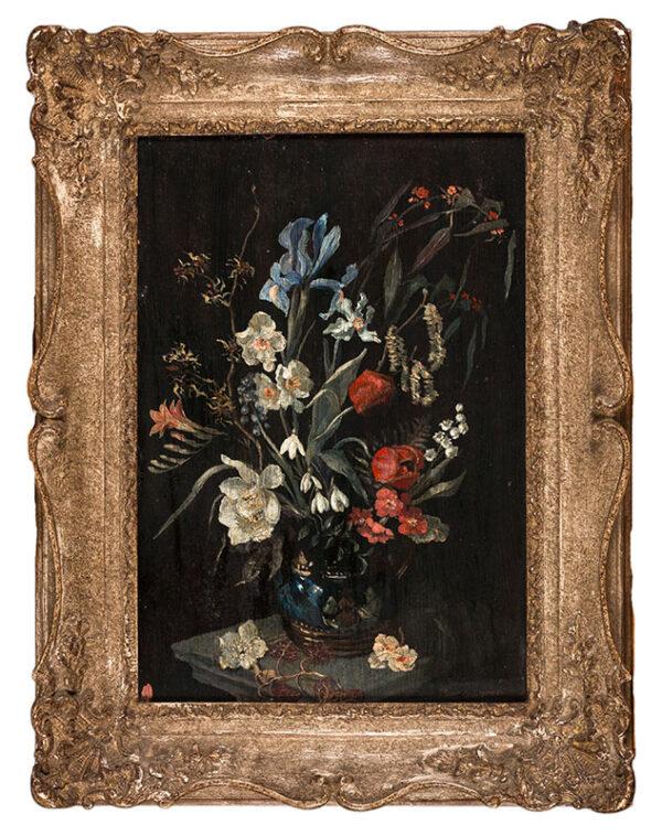 BROMLEY DAVENPORT Isabella (née von Rieben) (d.1957) - 'Spring Flowers'.