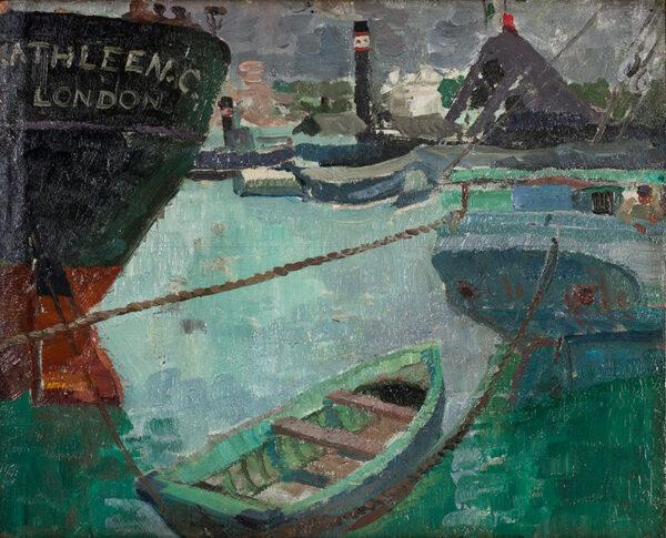 BROOKS Marjorie (1904-1980) (Lady Holford) - Harbour.