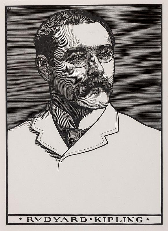 BRYDEN Robert (1865-1939) - 'Rudyard Kipling'.