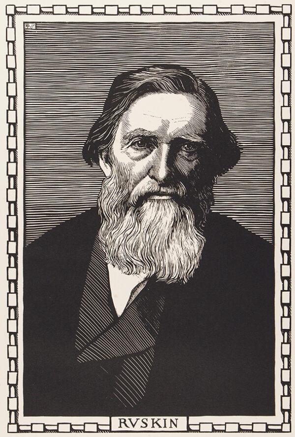 BRYDEN Robert (1865-1939) - 'Ruskin'.