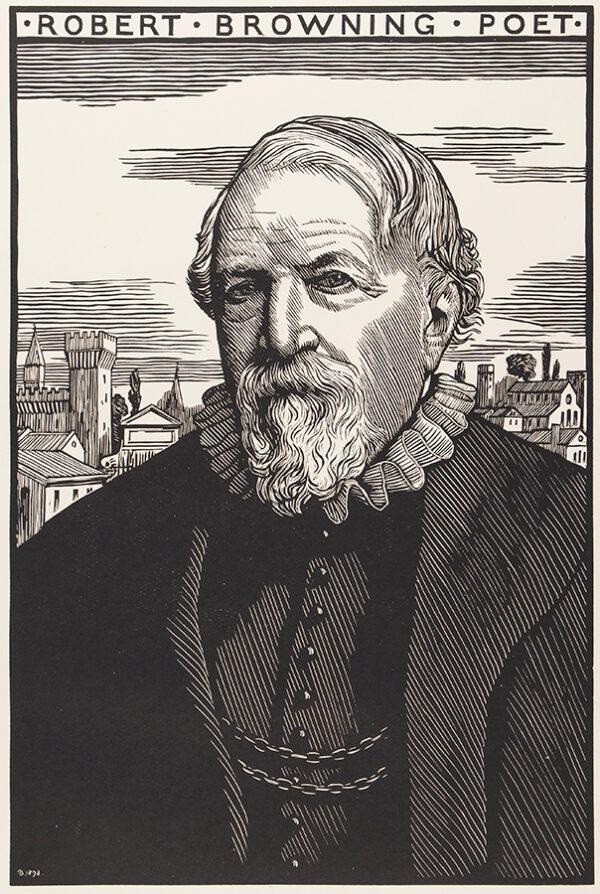 BRYDEN Robert (1865-1939) - 'Robert Browning Poet'.