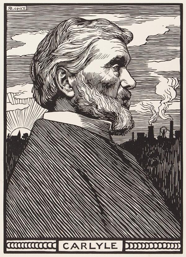 BRYDEN Robert (1865-1939) - 'Carlyle'.