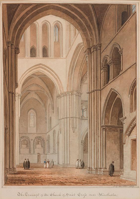 BUCKLER John Chessell (1793-1894) - Hampshire.