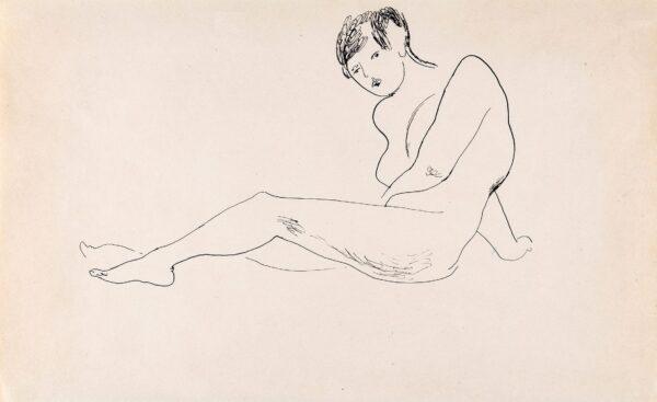 BURRA Edward (1905-1976) - Reclining Model.