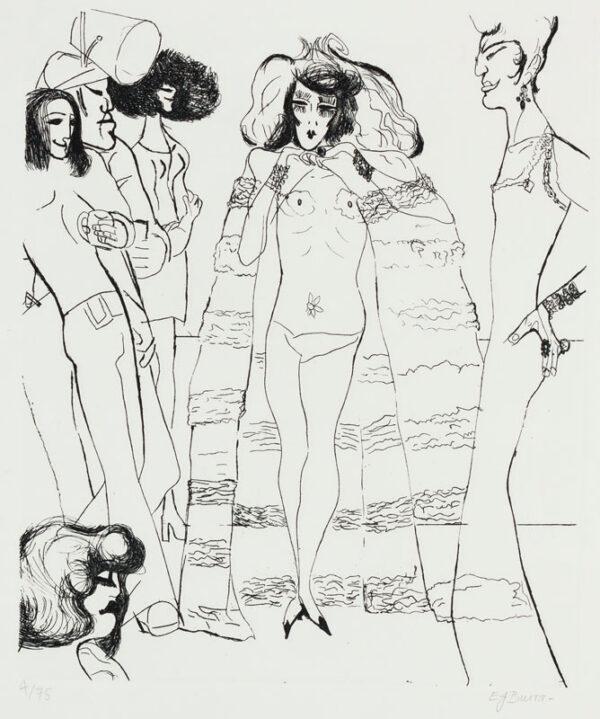 BURRA Edward (1905-1976) - 'Drag Queen'.
