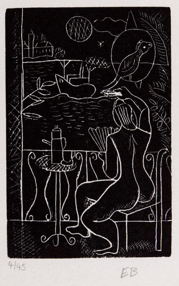 BURRA Edward (1905-1976) - 'Fleet's in'.