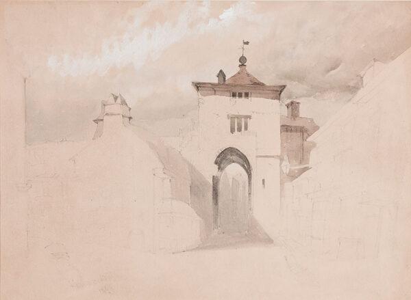 BURRELL-SMITH James (1822-1897) - Somerset.
