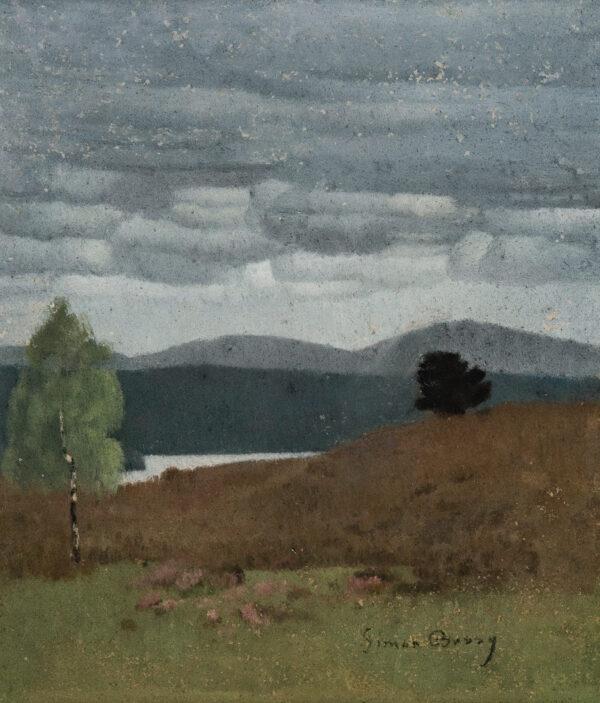 BUSSY Simon (1870-1954) - 'Paysage Ecossais': Rothiemurchus, family home of the Grant family.