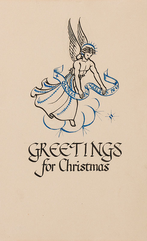 BUTCHER Enid Constance (1902-1991) - Greetings for Christmas.