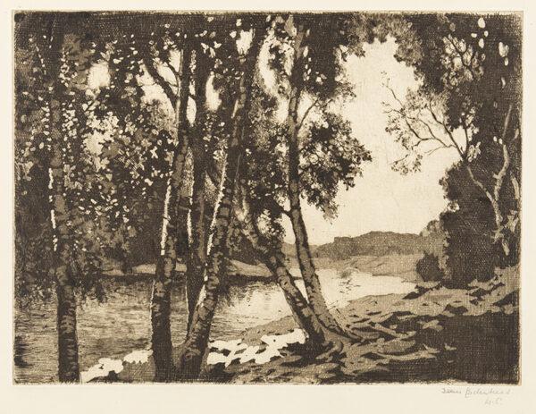 CADENHEAD James R.S.A. (1858-1927) - Scottish river.