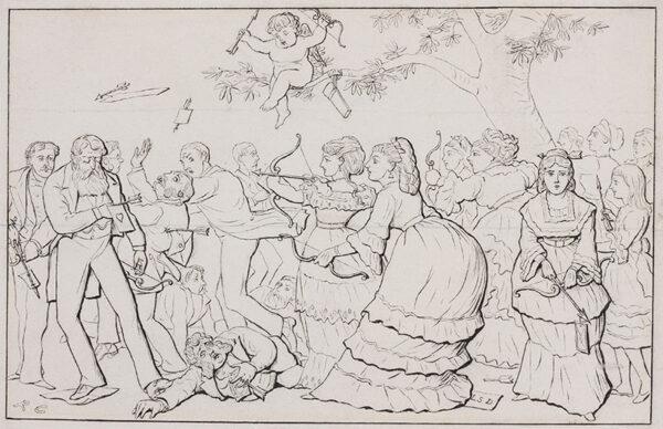 CALDECOTT Randolph R.I. (1846-1886) - 'Cupid in Society' II.