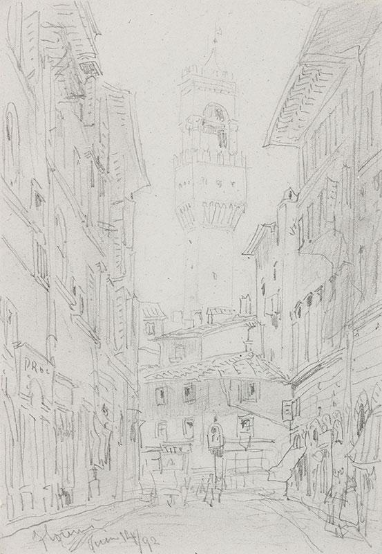 CALLOW William O.W.S. (1812-1908) - Italy.