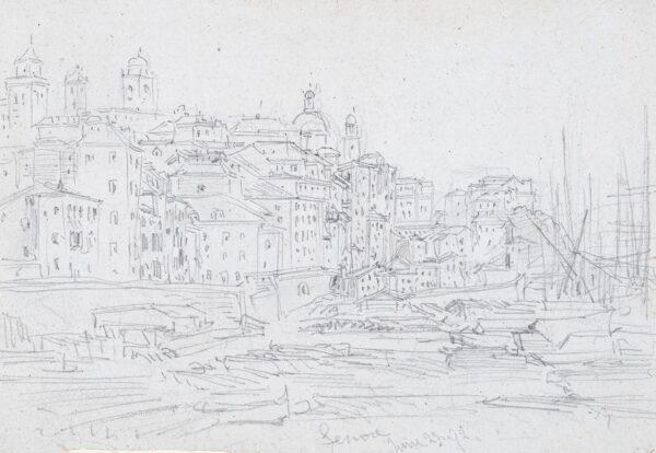 CALLOW William O.W.S. (1812-1908) - 'Genoa'.
