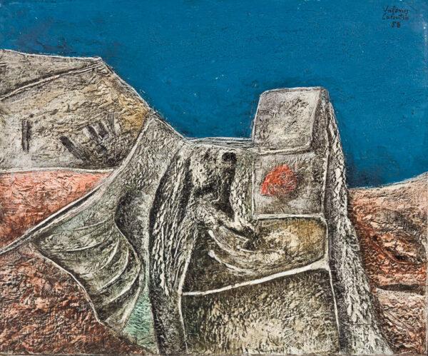 CALOUTSIS Valerios (b.1927) - Landscape.