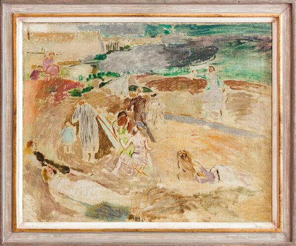 CAMP Jeffery R.A. (b.1923) - 'Children's Corner, Pakefield Beach'.