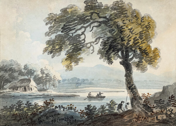 CAMPBELL John Henry (1757-1829). - 'View on the Barrow', Co.