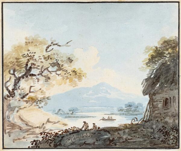 CAMPBELL John Henry (1757-1829) - An Irish View.