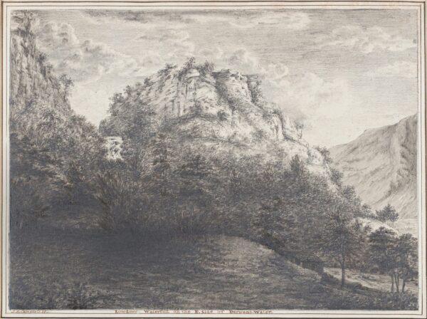 CAMPBELL John Henry (1757-1829) - 'Lowdowr Waterfall on the E.
