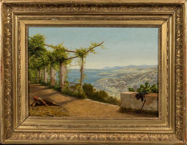 CARRICK James Mulcaster (1833-1896) - 'Near Nice'.