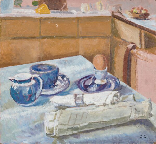 CARRINGTON Catherine (1904-2004) - Still-life: Breakfast.