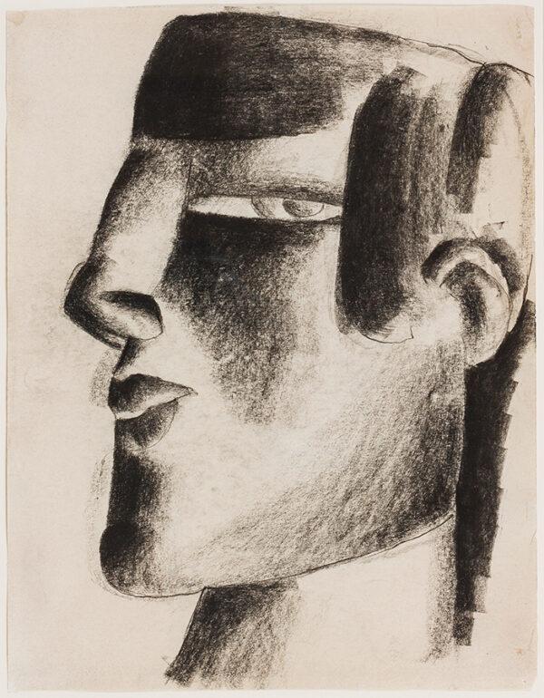 CARRON Marcel (1890-1961) - Head.