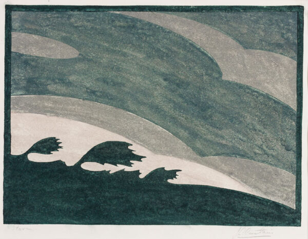CARSTAIRS J. L. (Exh: 1926-1931) - 'Storm'.