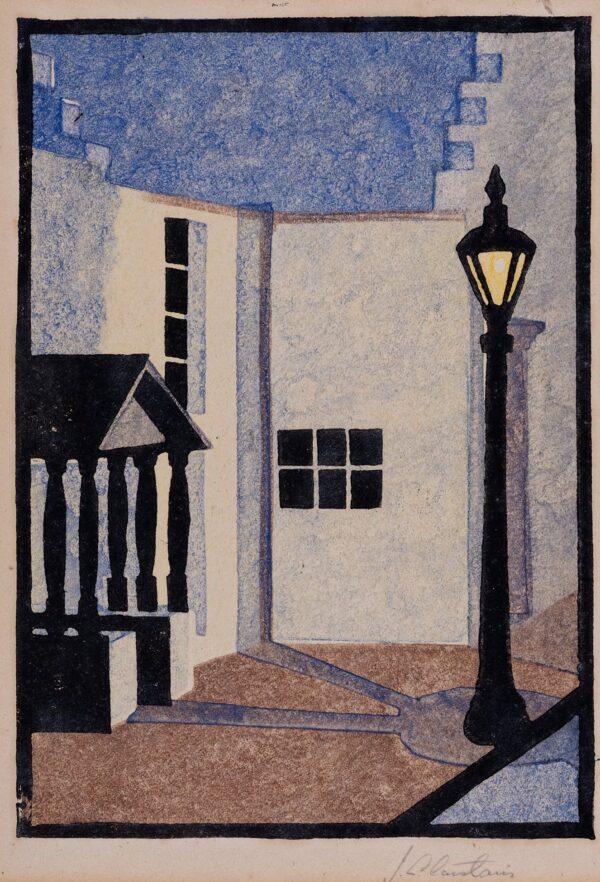 CARSTAIRS J. G. (Circa 1925) - Street lamp.