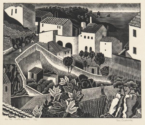 CHADWICK Tom (1915-1942) - 'On the Costa Brava'.