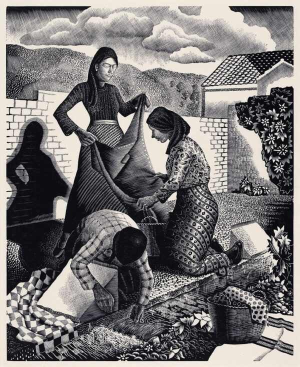 CHADWICK Tom (1915-1942) - 'Wayside Laundry'.