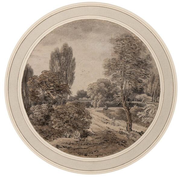 CHATELAIN Jean Baptiste Claude (1710-1758) - Capriccio.