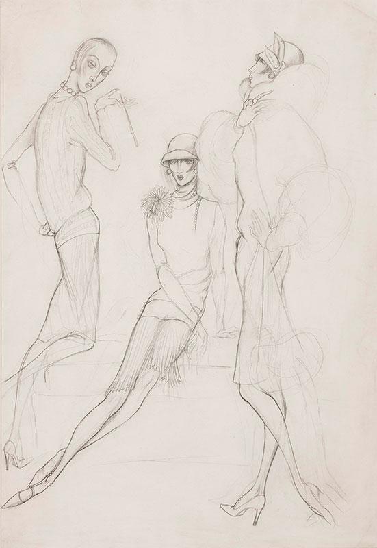CHAPPELL William (1907-1994) - 'The Twenties'.