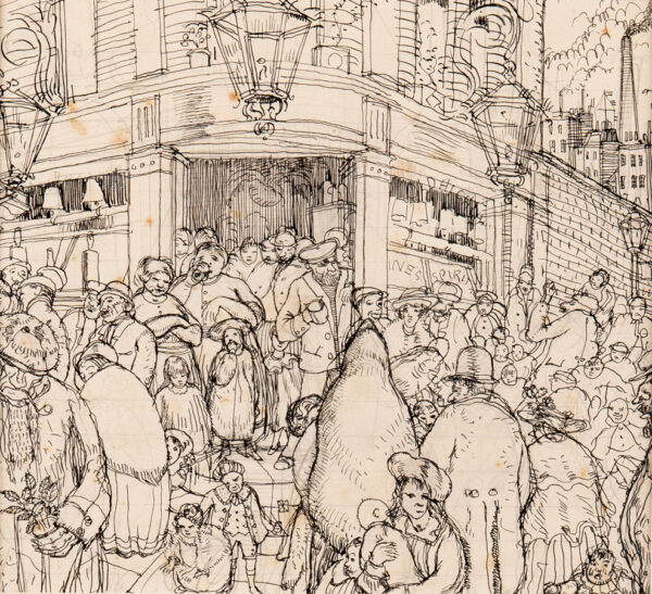 CHARLTON George (1899-1979) - The Pub.