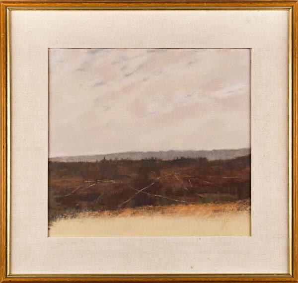 CHEESMAN Harold R.S.A. (1915-1982) - 'Tracks on Hillside'.