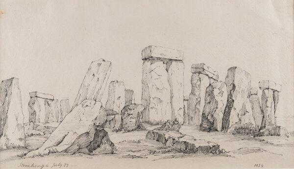 CHENEY (Robert) Henry (1801-1866) - 'Stonehenge'.