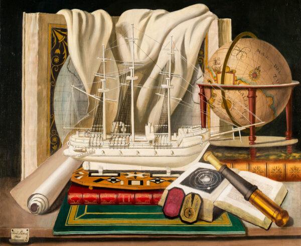 CERNY Karel (Charles) (1892-1965) - Trompe l'oeil.