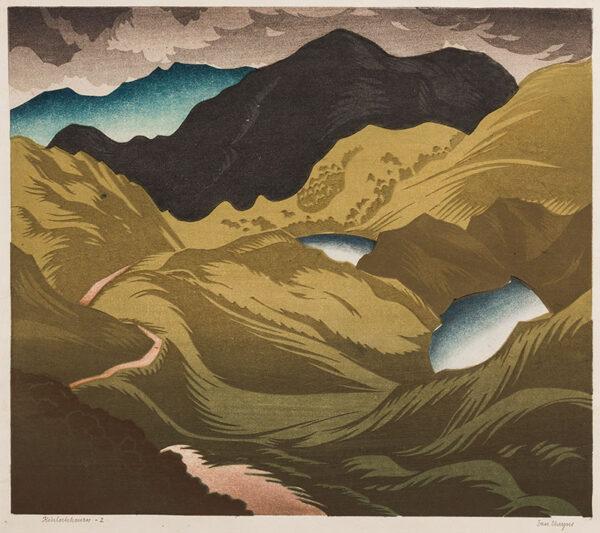 CHEYNE Ian (1895-1955) - 'Kinlochhourn'.