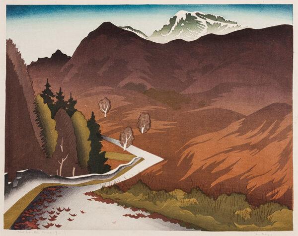 CHEYNE Ian (1895-1955) - 'First Snow, Ben Lomond'.