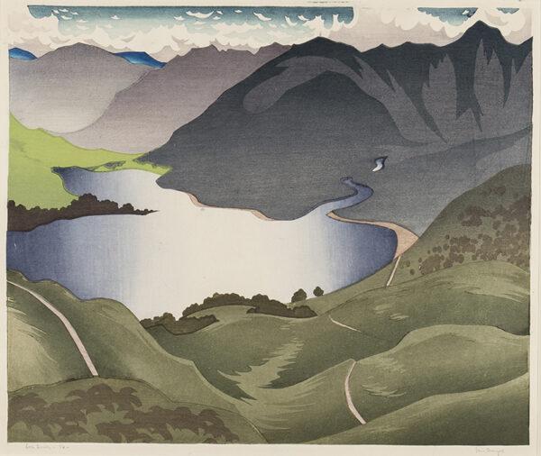 CHEYNE Ian (1895-1955) - 'Loch Duich'.