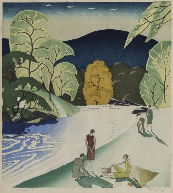 CHEYNE Ian (1895-1955) - 'Summer Picnic'.