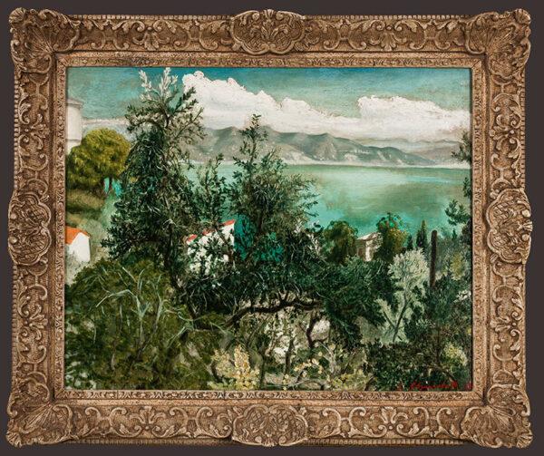 CHURCHILL John Spencer (1909-1992) - 'View from Portofino'.