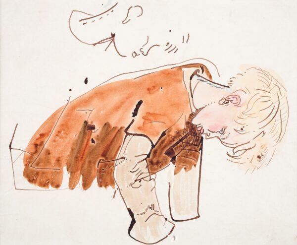 CLARKE HALL Edna (1879-1979) - Study of Denis, the artist's son (1910-2006).