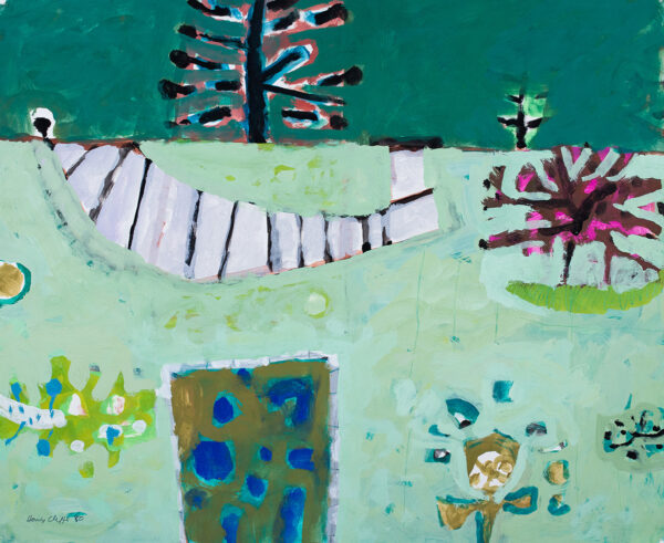 CLIFFE Henry (1919-1983) - A Garden.