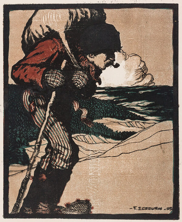 COBURN Frederick Simpson (Canadian 1871-1960) - Canadian Winter.