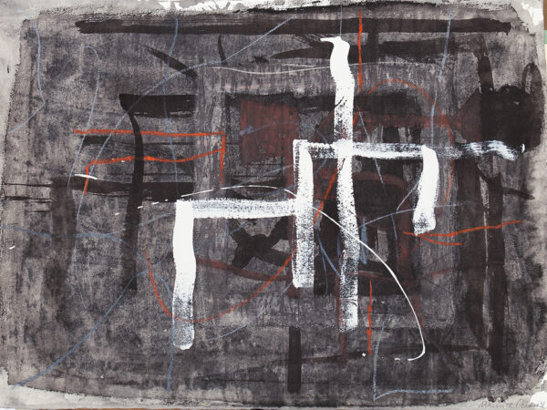 COCKRILL Maurice R.A. (1935-2013) - Abstraction.