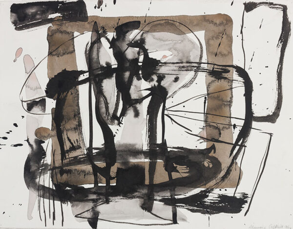 COCKRILL Maurice RA (1936-2013) - Abstraction.