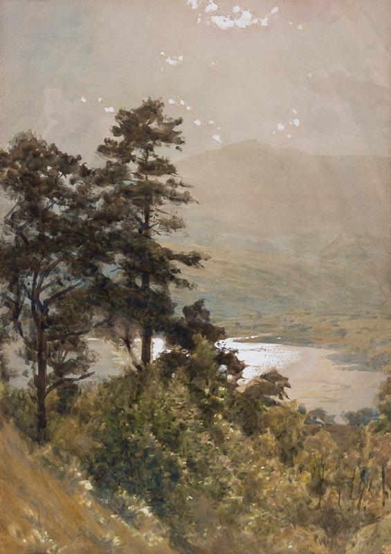 COLLINGWOOD William Gershom (1854-1932) - 'Coniston'.
