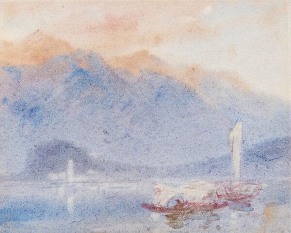 COLLINGWOOD William R.W.S. (1819-1903) - Lake Lucerne.